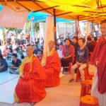 行動佛殿17站來到台中清水適逢觀音菩薩吉祥日舉辦第一場在室外露天場地的《觀音大悲感召加持法會》