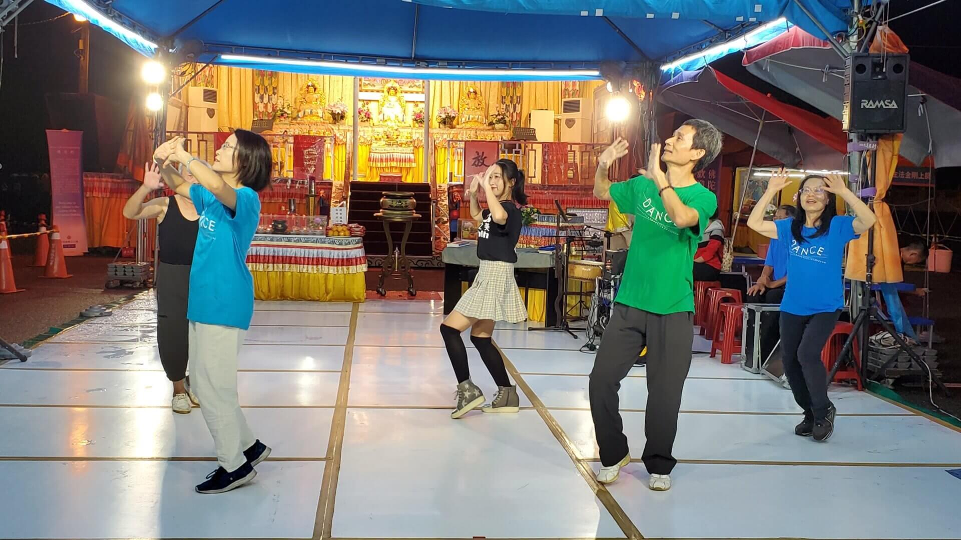 行動佛殿 樂藝供佛 祥和舞藝公益演出