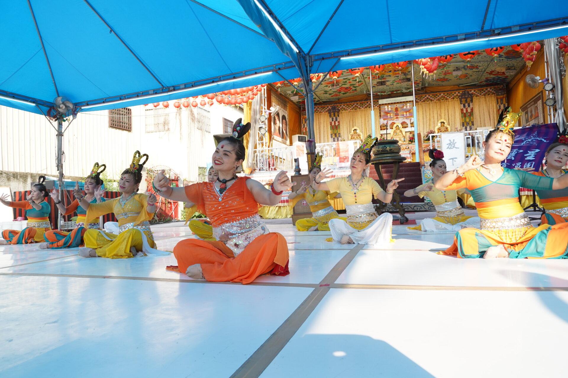 行動佛殿 樂藝供佛 那瑪思提舞悦集 公益演出