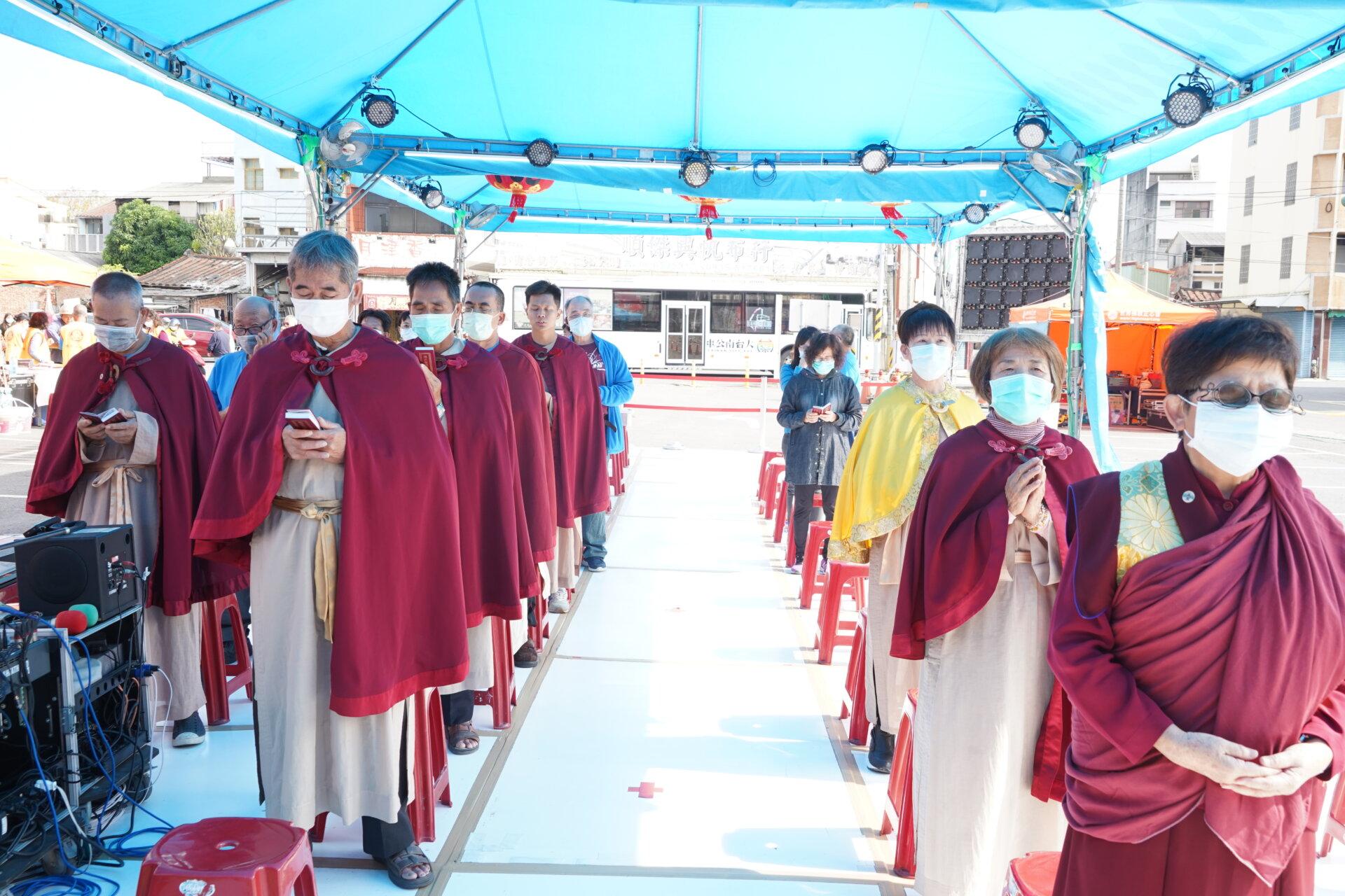 行動佛殿113站臺南鹽水,行動佛殿祈福法會