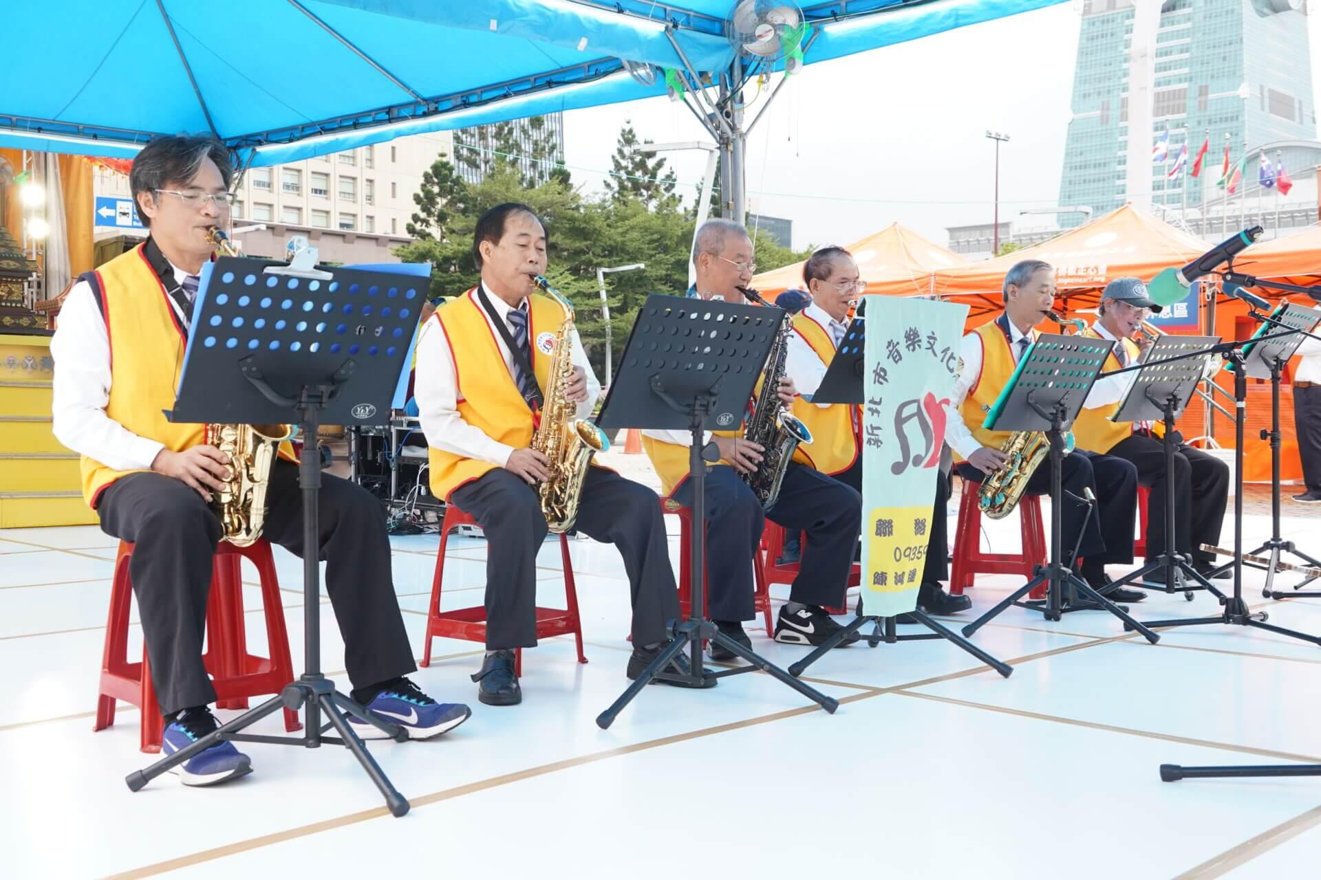 行動佛殿112站台北市政府,新北市音樂文化協會公益演出