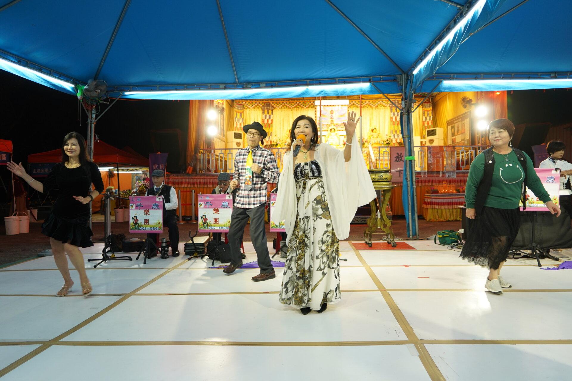 行動佛殿115站台南白河,雲林土庫千歲樂團
