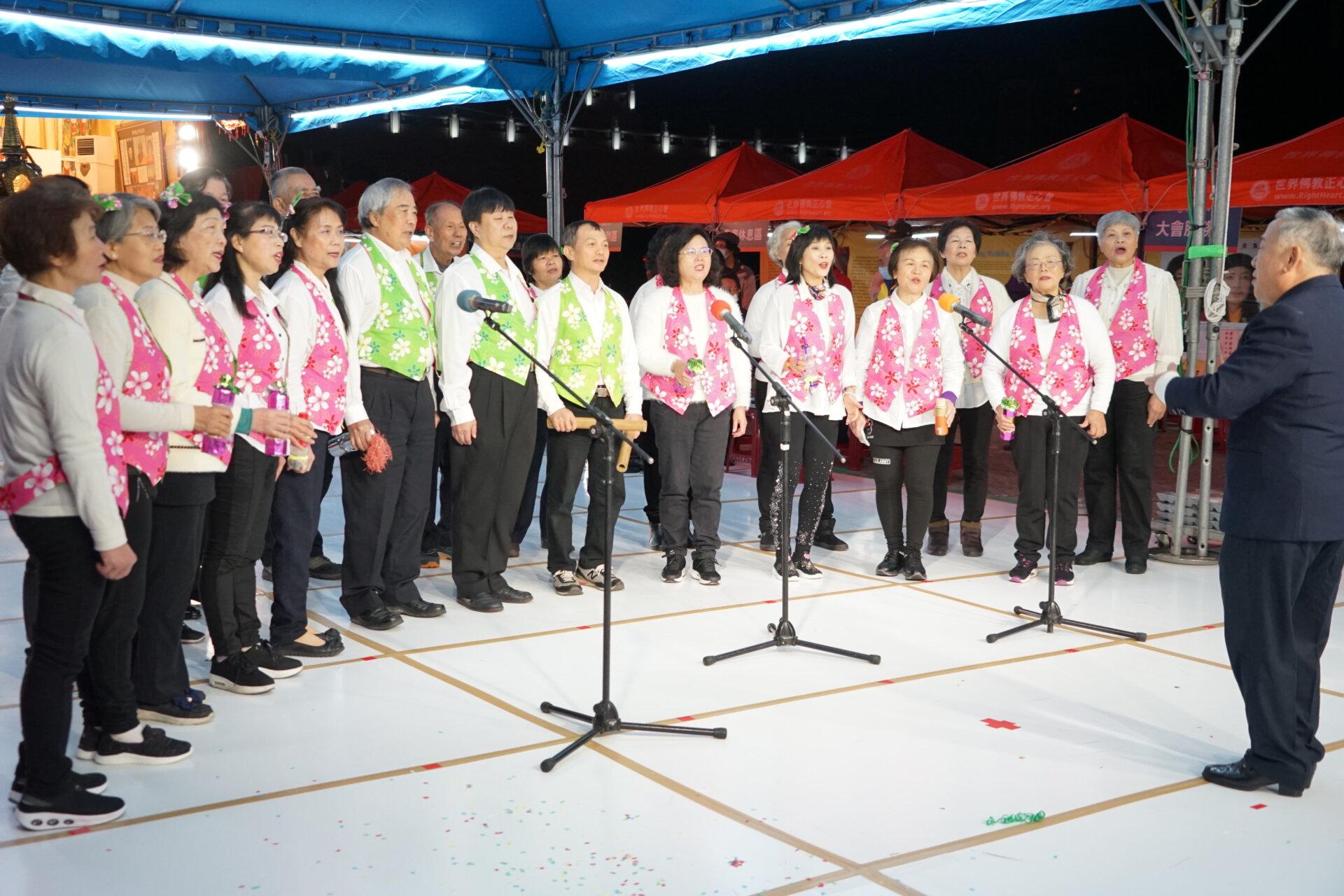 行動佛殿 樂藝供佛 基隆市客家文化協會合唱團