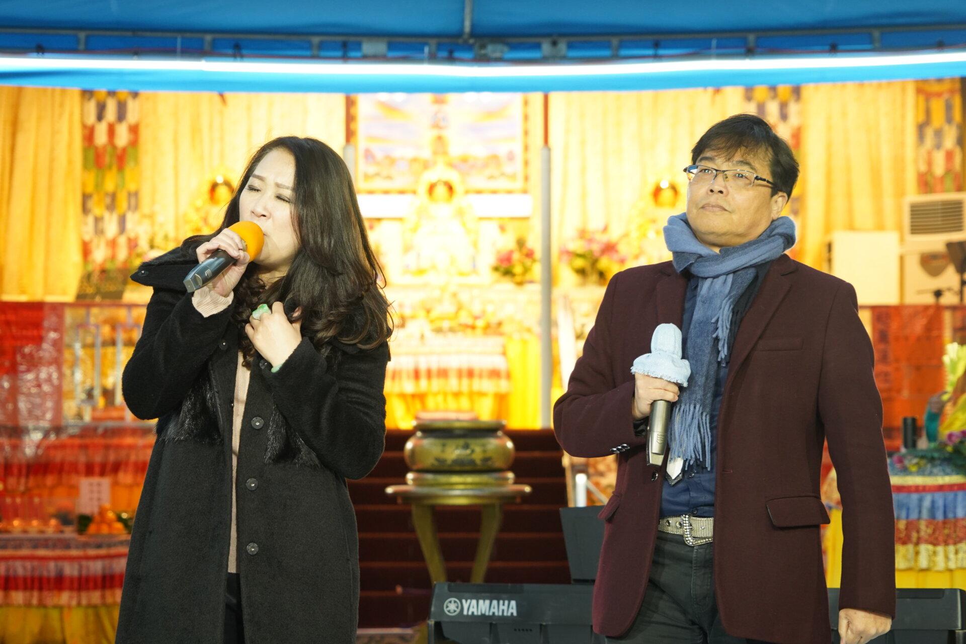 行動佛殿118站台南七股,歡樂之聲樂團公益演出