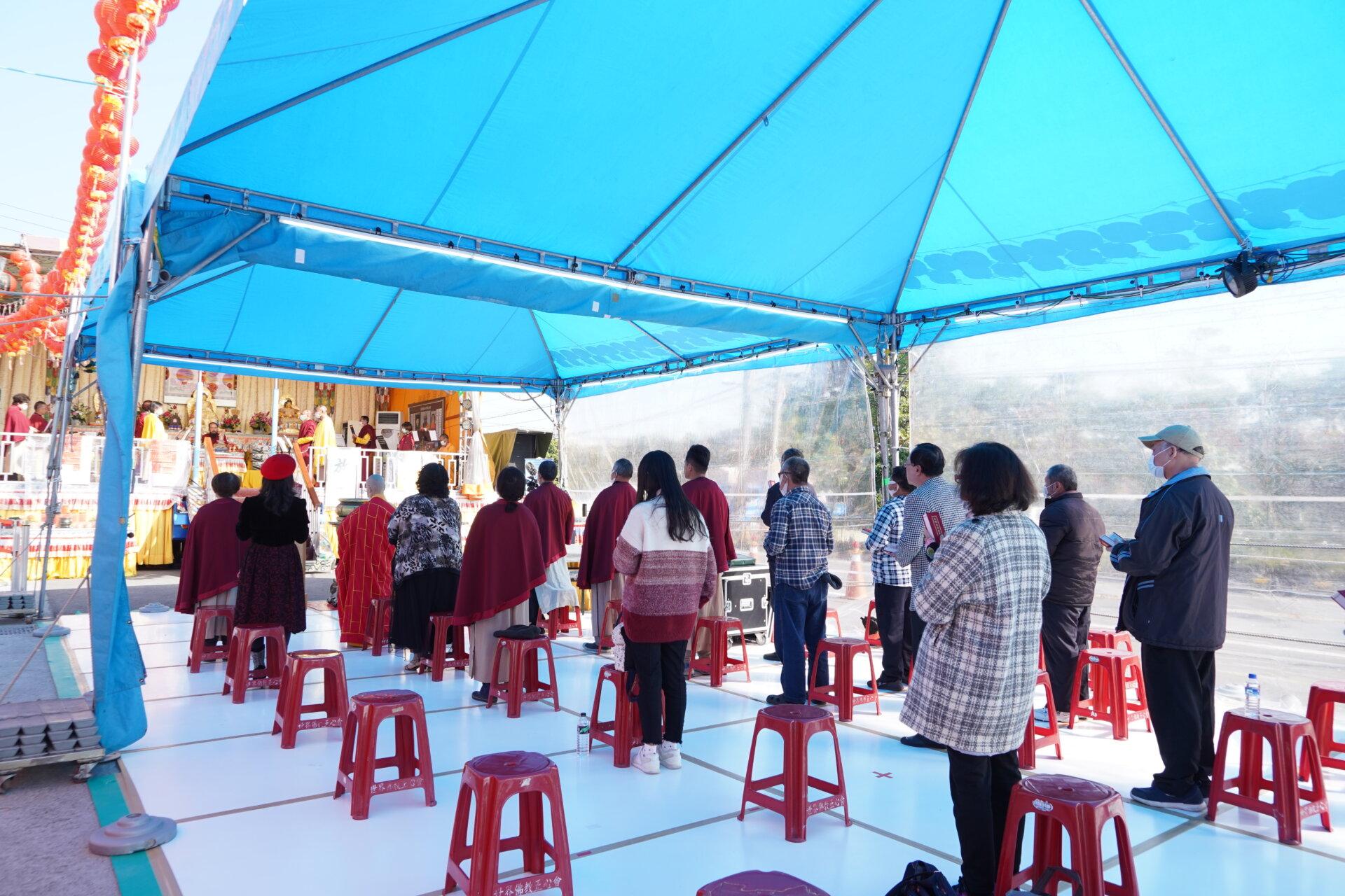 行動佛殿118站台南七股舉辦誦經祈福法會