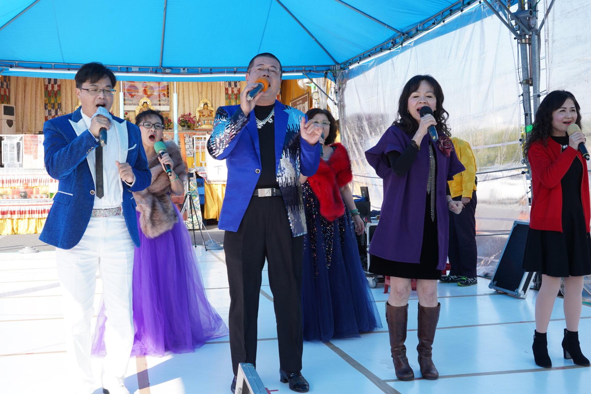 行動佛殿 樂藝供佛 多位歌手公益演出