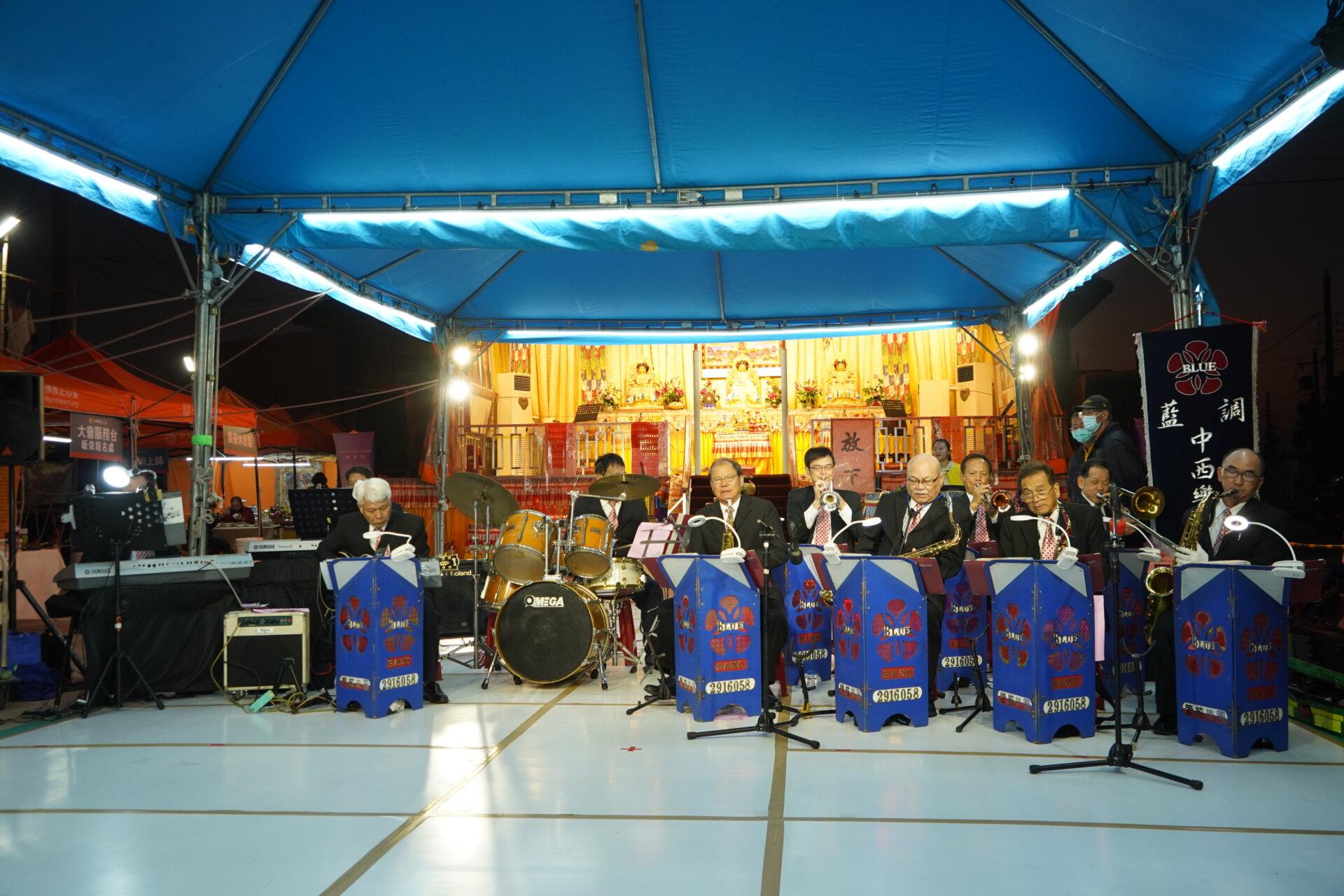 行動佛殿 樂藝供佛 藍調中西樂團