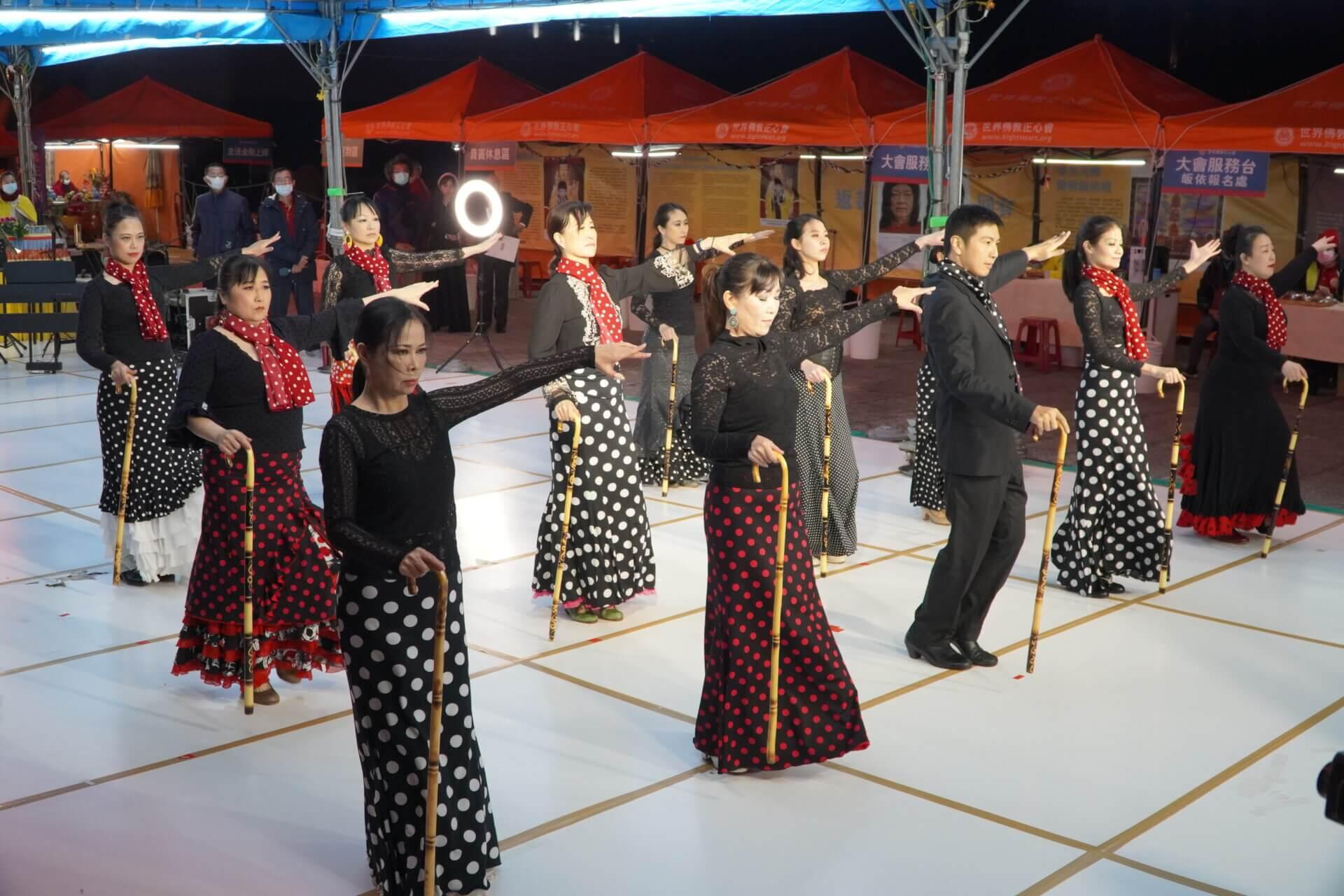 行動佛殿 樂藝供佛 台北邊境佛拉明哥舞團公益演出