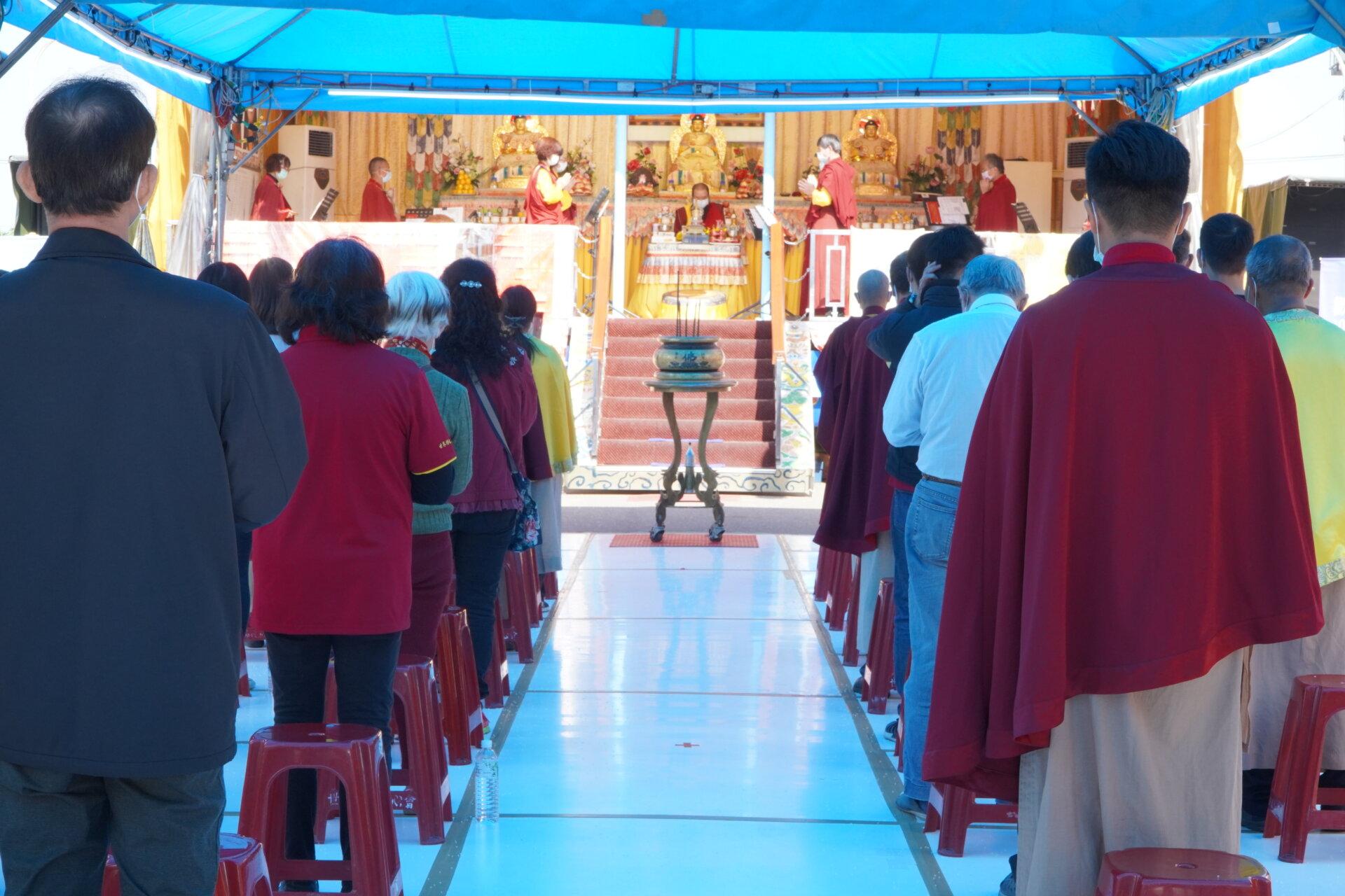 恭祝 第三世多杰羌佛日,行動佛殿119站臺南麻豆誦經祈福護生法會