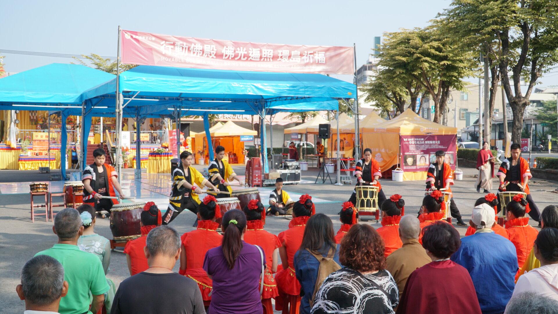 世界佛教正心會行動佛殿123站高雄前鎮,樂藝供佛節目精彩可期,邀請民眾共同觀賞