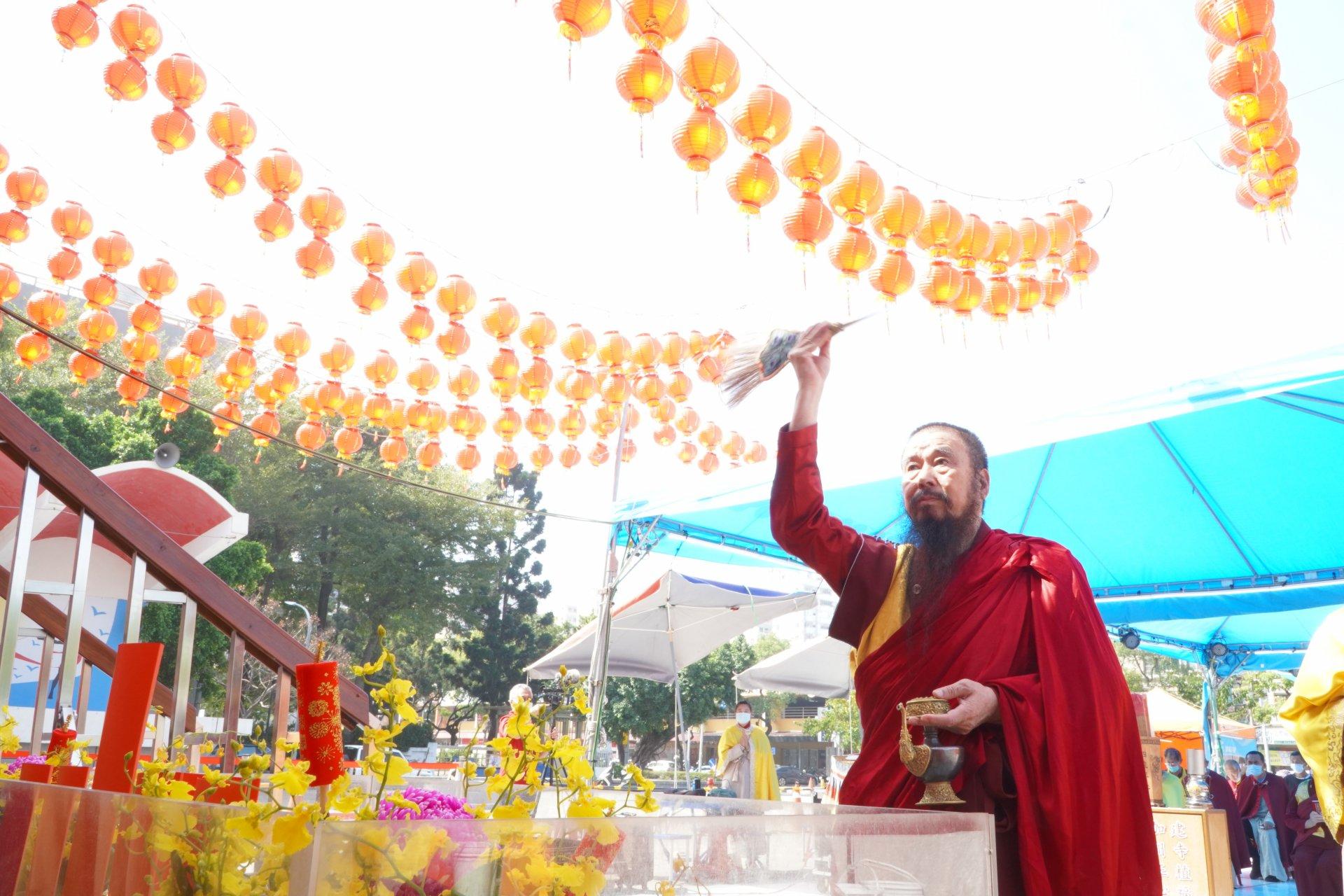 行動佛殿123站高雄前鎮,新春祈福大法會