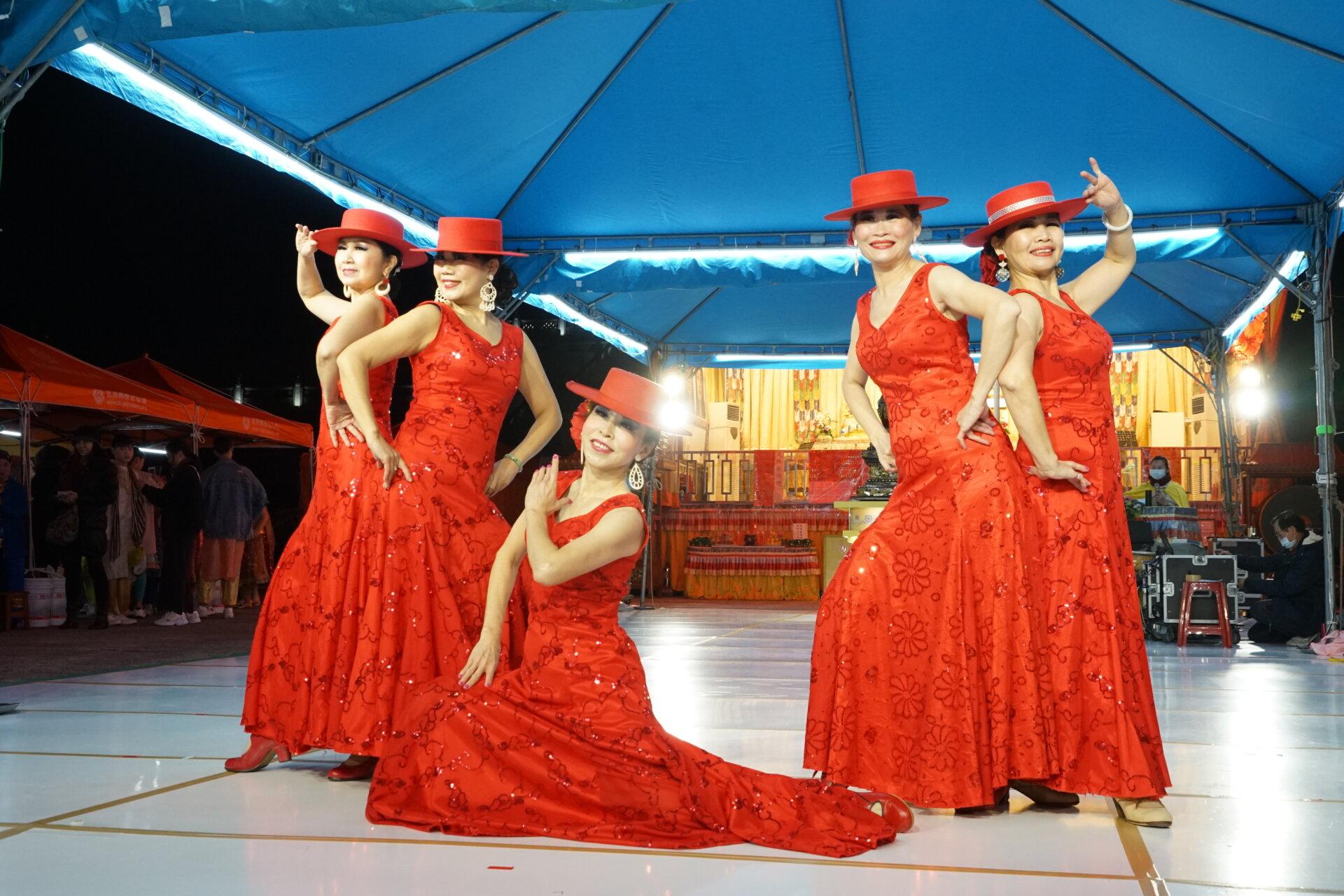 行動佛殿 樂藝供佛 來自台中貝拉佛拉明哥舞團公益演出