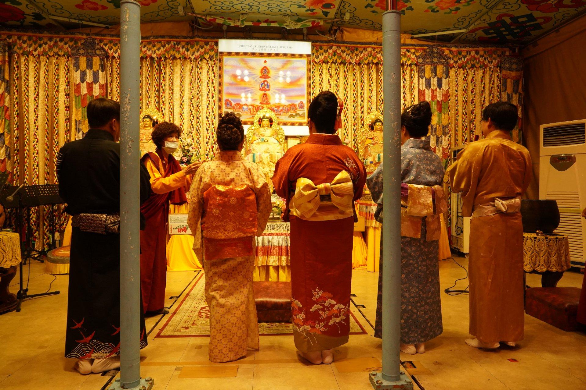 行動佛殿128站高雄路竹,表演團體頂禮南無第三世多杰羌佛