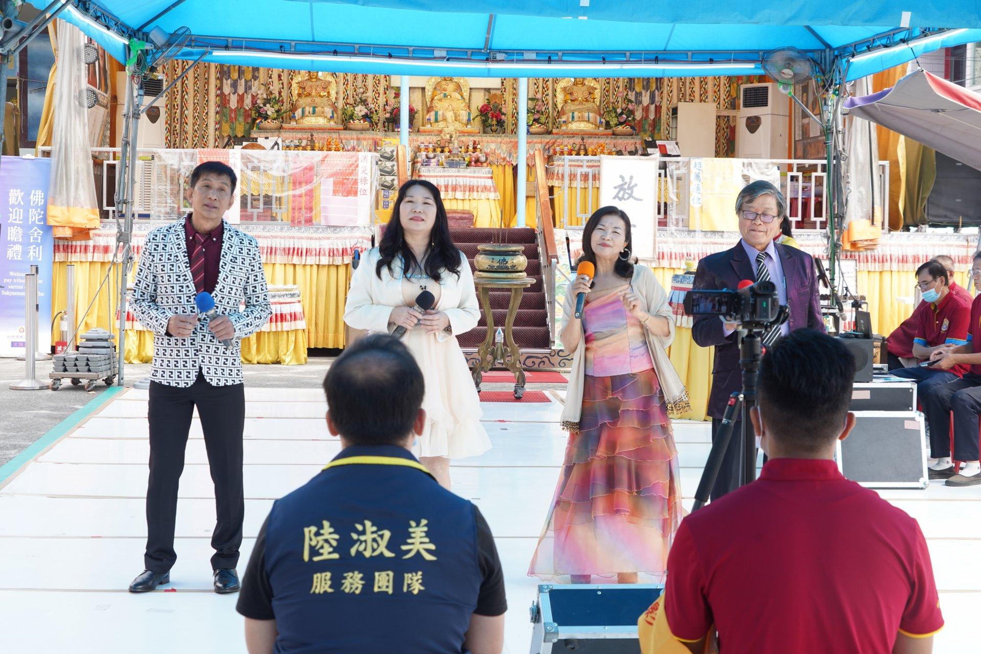 行動佛殿129站高雄永安,來自台南的短褲樂團公益演出