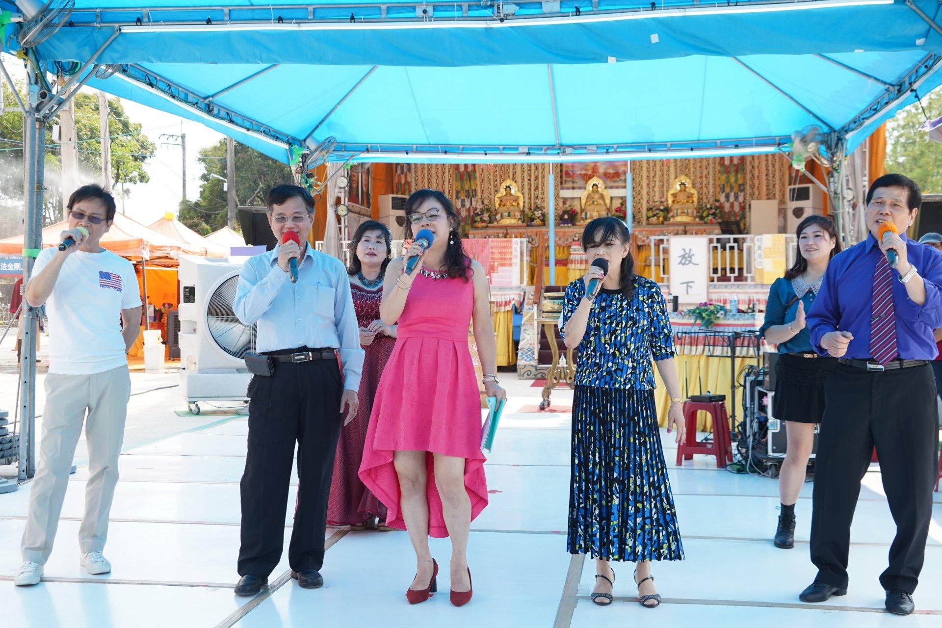 行動佛殿 樂藝供佛 太陽舞蹈運動空間
