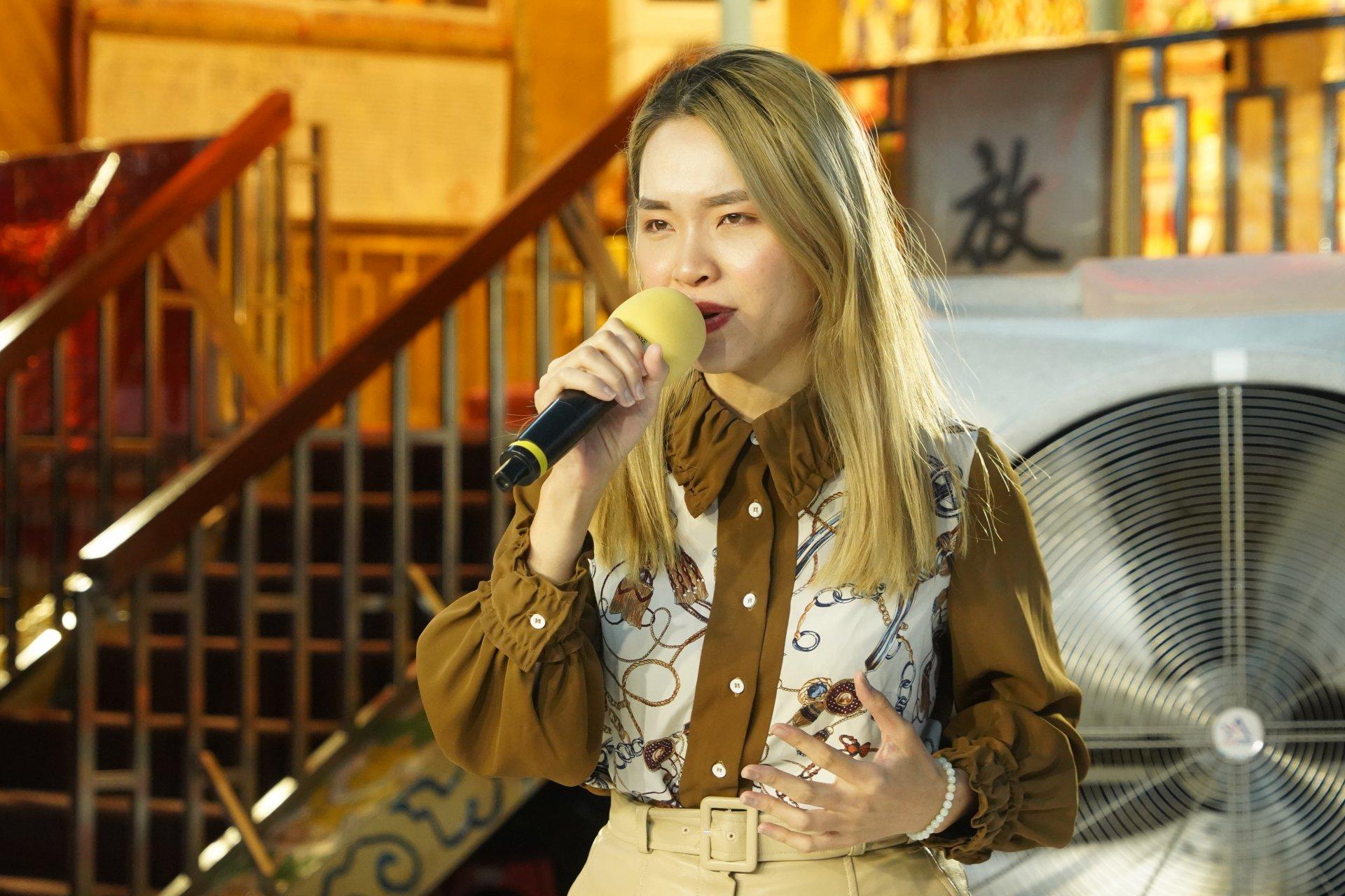 行動佛殿 樂藝供佛 歌手陳宥希公益演出