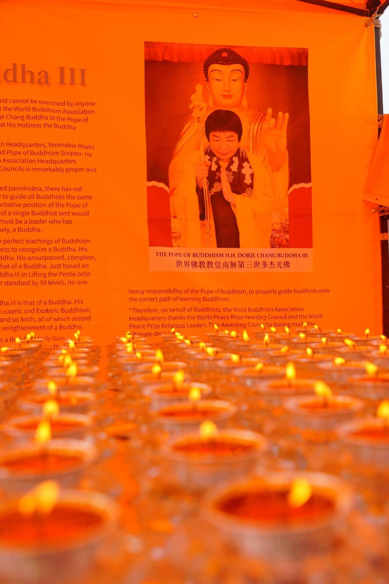 行動佛殿130站台南,觀音大悲感照加持法會,點燈供佛