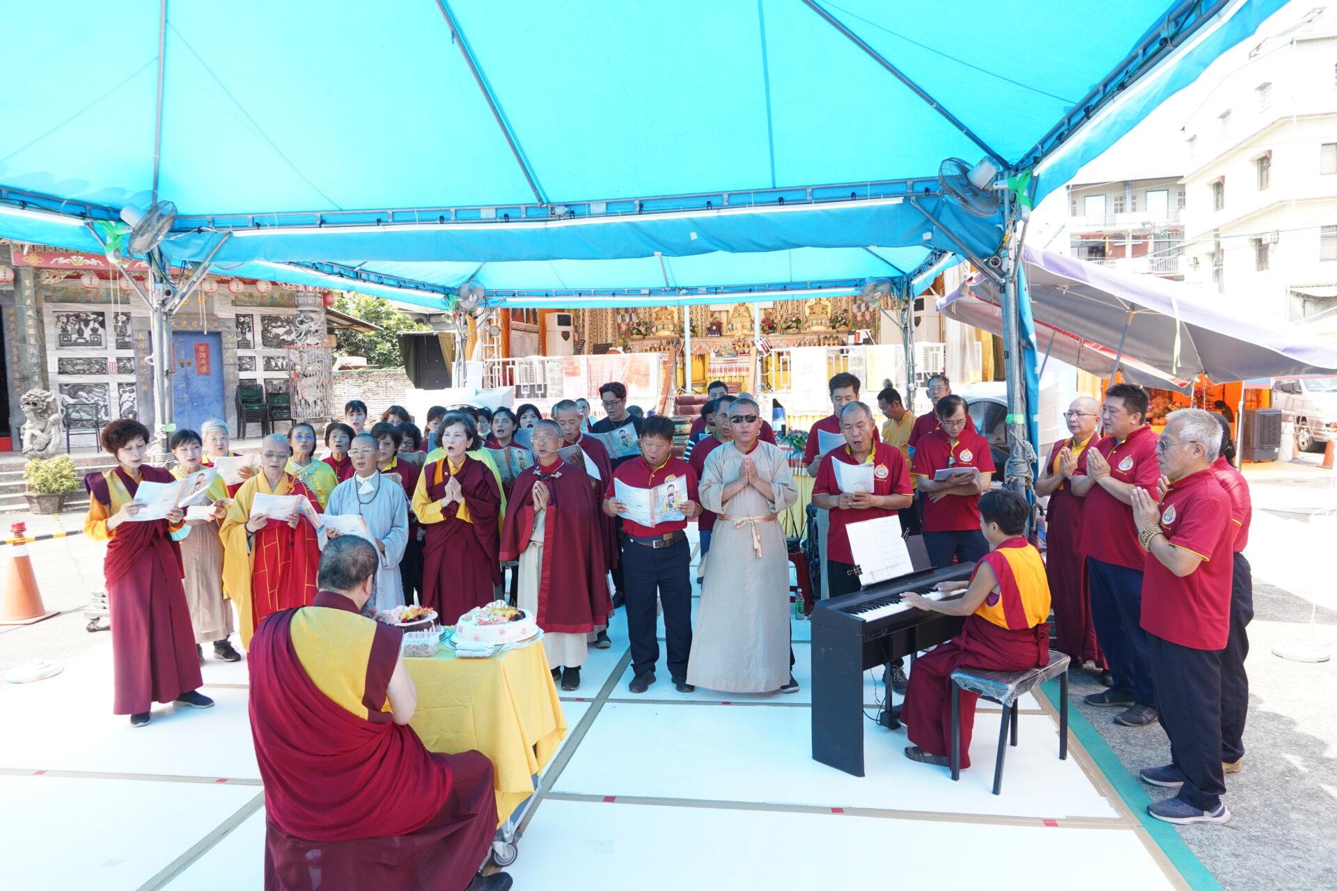 行動佛殿135站高雄大樹,適逢母親節祝福天下母親平安健康
