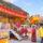 環島祈福到瑞芳  各國旅客齊至行動佛殿參拜